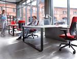 Pracownicze krzesła obrotowe Xenon, Xenon Net PROFIM - zdjęcie 10