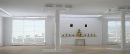 Kasia Kowal ośrodek buddyjski, Władywostok