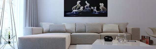 Jakie wybrać meble do salonu - sofy tapicerowane
