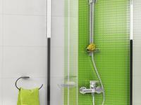 Wyraziste kolory w aranżacji łazienki