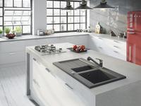 Nowoczesna kuchnia – baterie na kuchenną wyspę