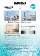 Akcja Fontas + filtr do wody BLANCO