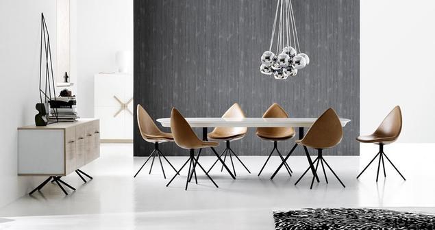 Bardzo dobry Zobacz galerię zdjęć Nowoczesne meble do jadalni: stoły i krzesła HS89